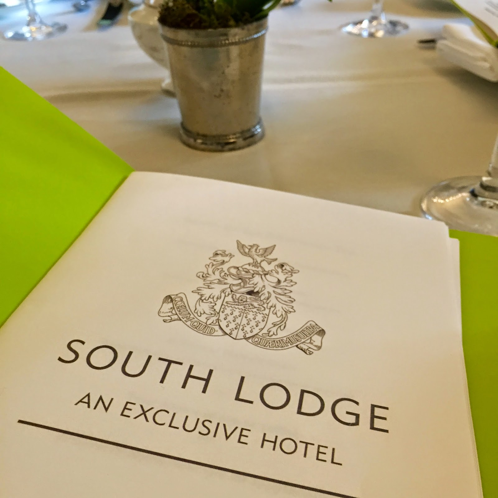 south lodge hotel afternoon tea