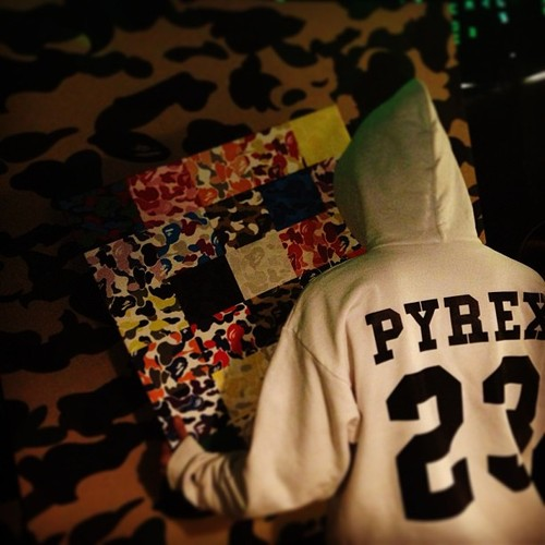 G-Dragon Wears Pyrex Vision clothing