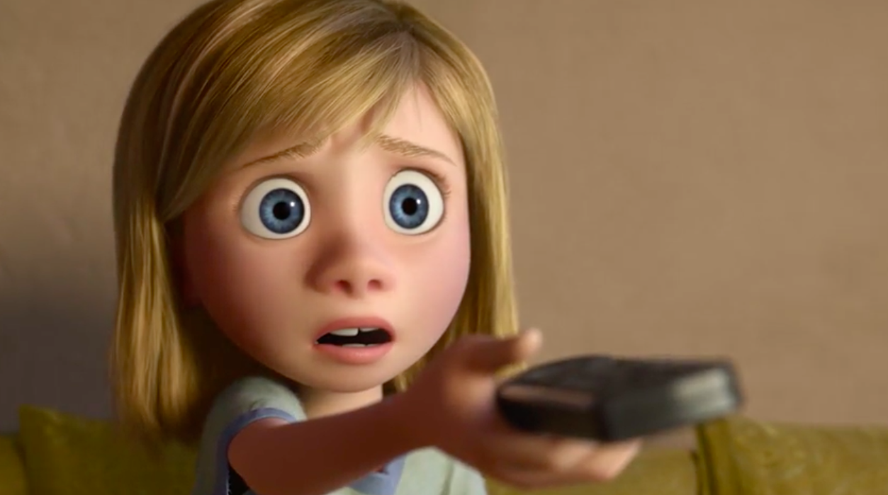 New inside out clip features humorous moment with fear pixar post