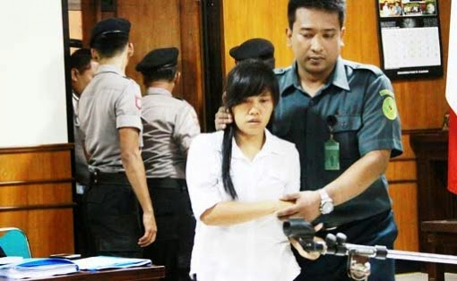 Mary Jane Fiesta Veloso in court