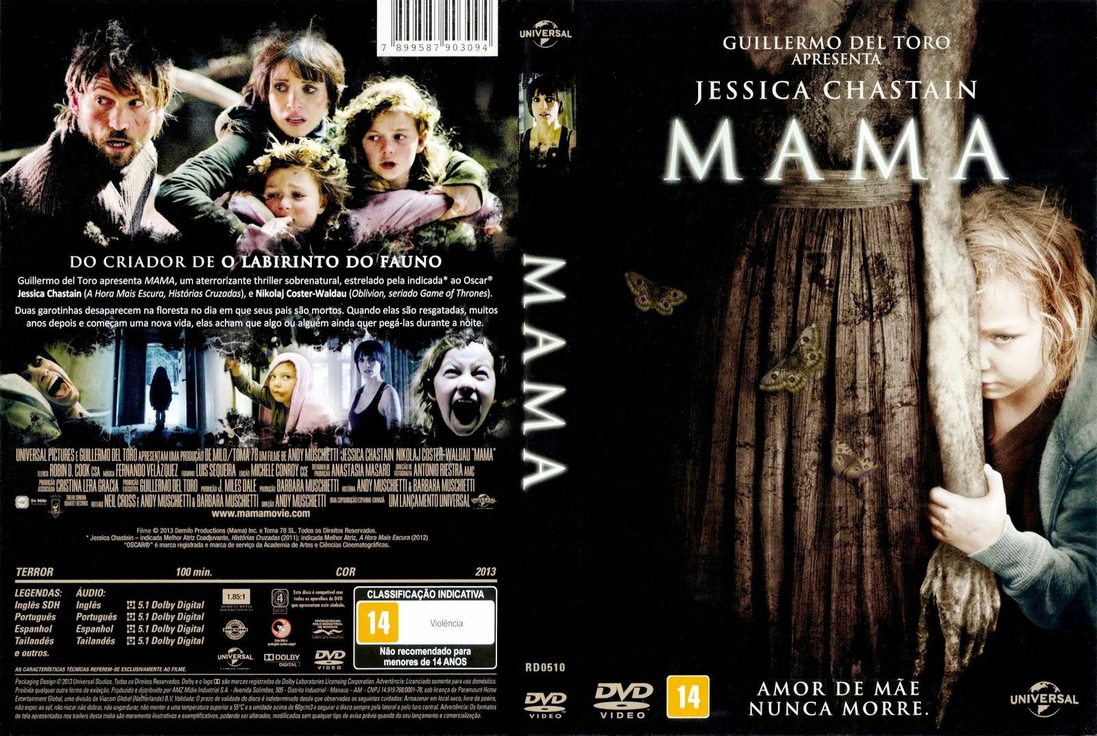 Capa DVD Mama