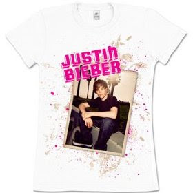Justin Biebershirts on Justin Bieber  Justin Bieber S Awesome T Shirts Collection For His