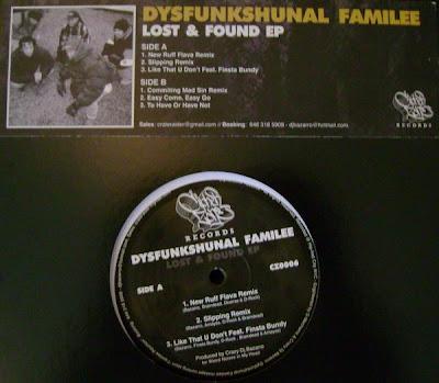 Dysfunkshunal Familee – Lost & Found EP (Vinyl) (2008) (VBR)