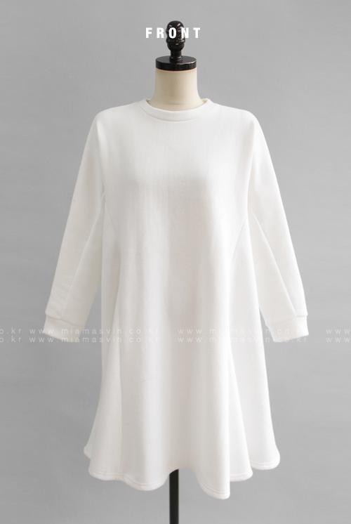 Flared Sweater Dress