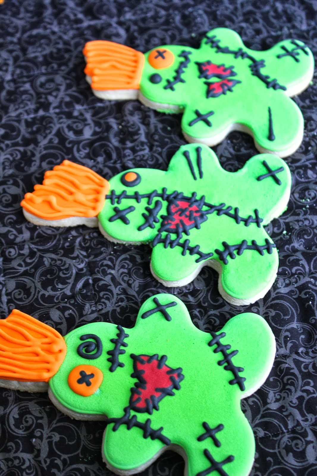 Sugar Bea S Blog Voodoo Doll Cookies Inspired By