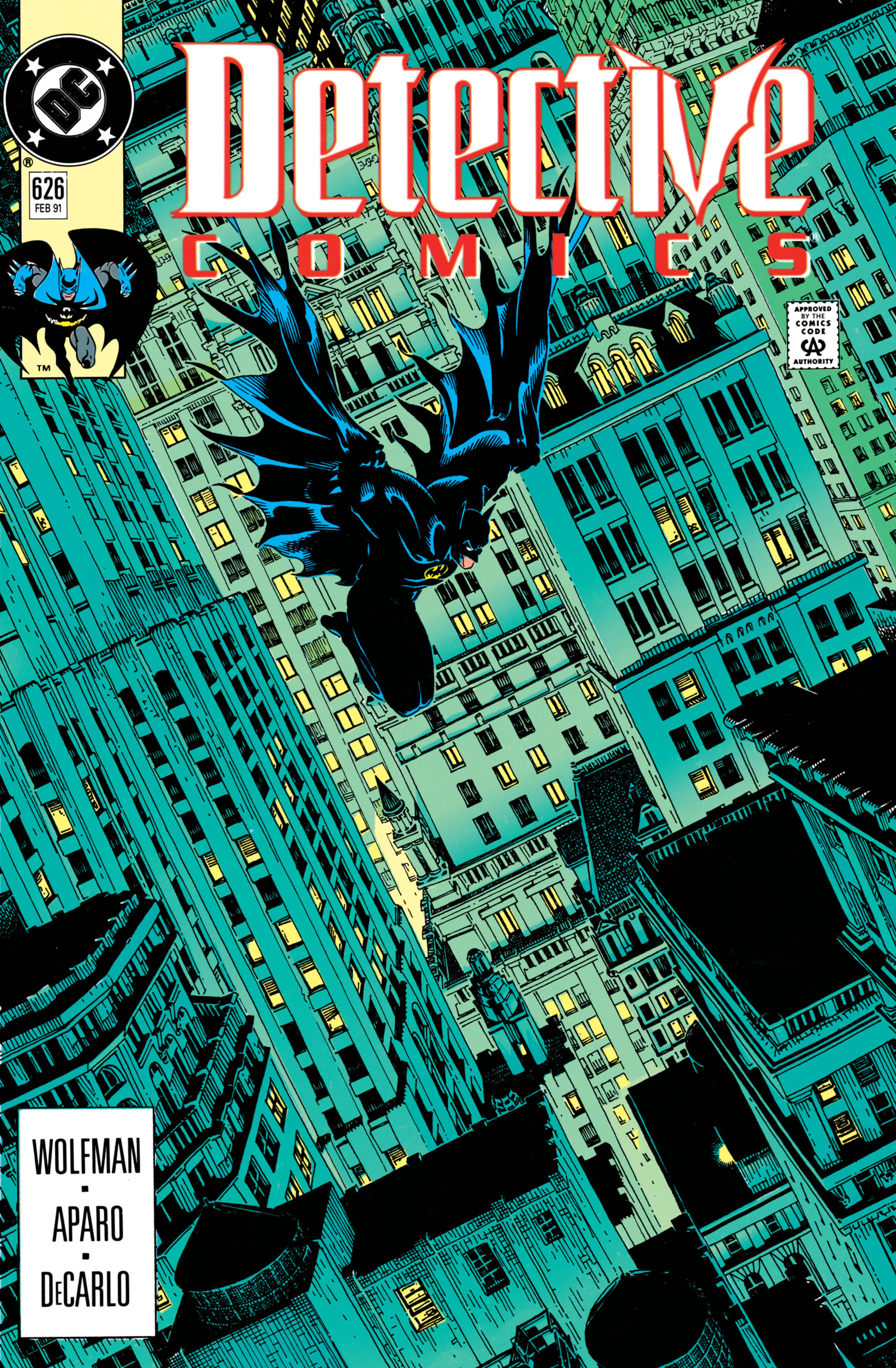 Detective Comics (1937) Issue #626 Page 1