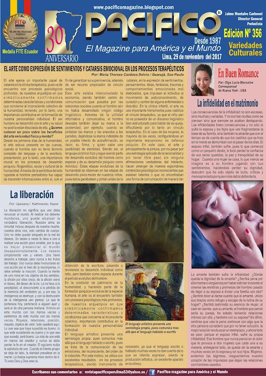 Revista Pacifico Nº 356 Variedades Culturales