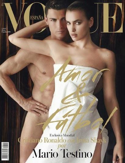Irina Shayk Vogue cover