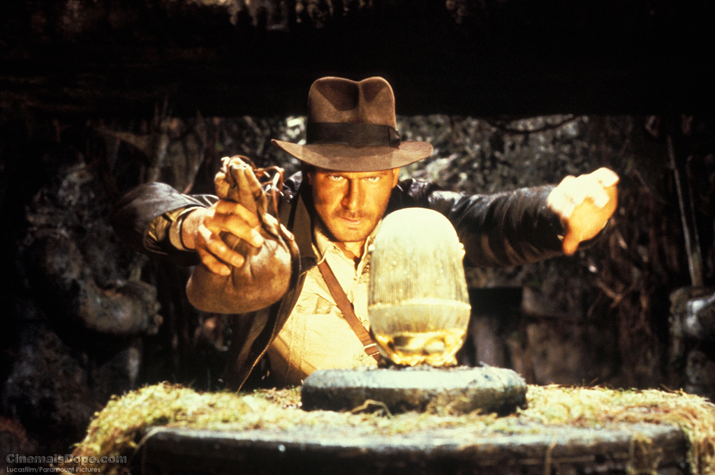 Indiana Jones making a choice