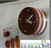 handmade Tin Can Clock easy