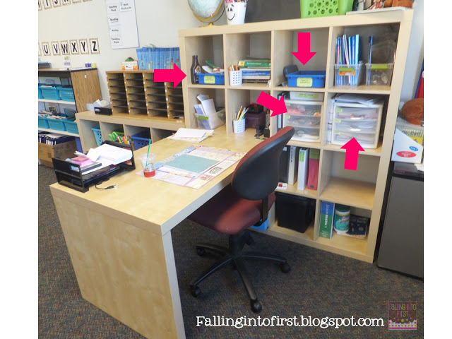 Falling into first tips to organize your workspace - Organize my desk ...