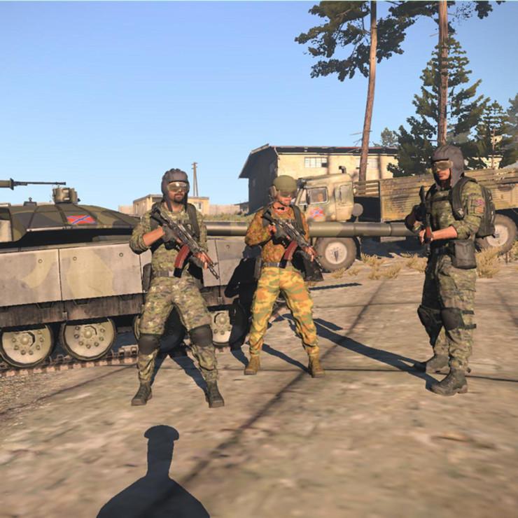 弱者の日記^^ウクライナ政府軍とドネツク共和国などを再現する Arma 3 用 Novorossiya and Ukraine アドオン