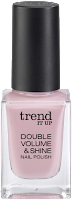 Preview: Die neue dm-Marke trend IT UP - Double Volume & Shine Nail Polish 020 - www.annitschkasblog.de
