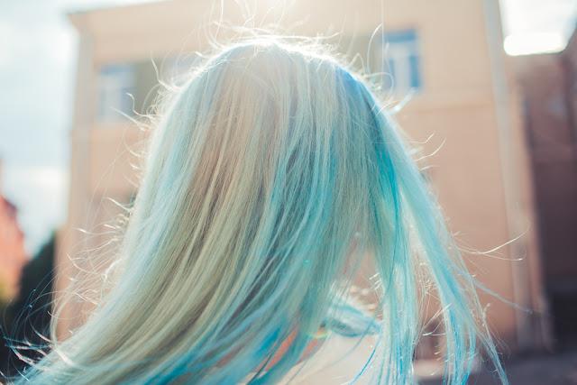 Remove Blue Hair Dye