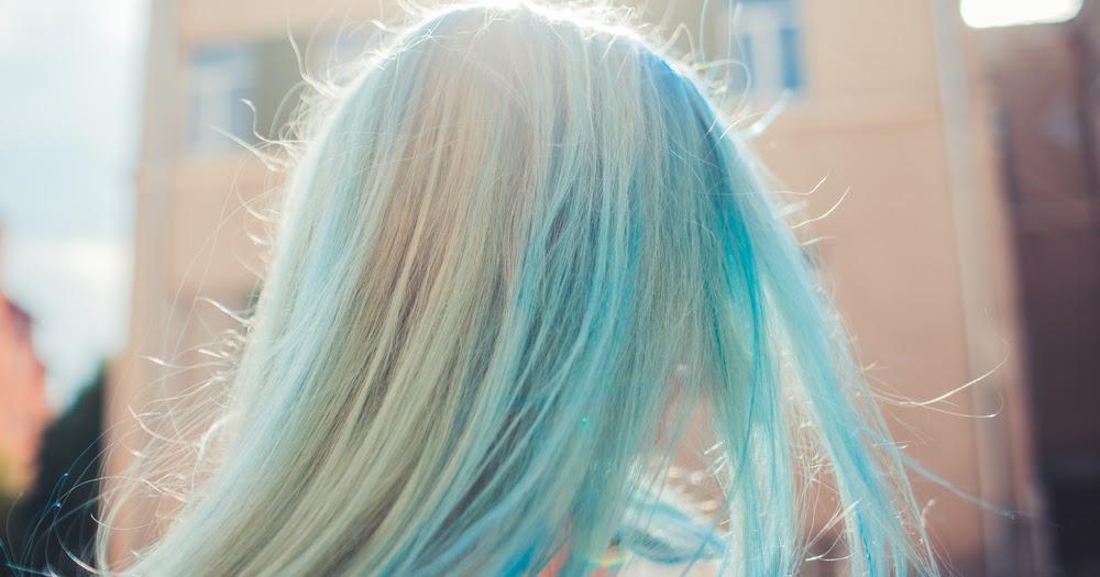 Blue Hair Dye Edinburgh