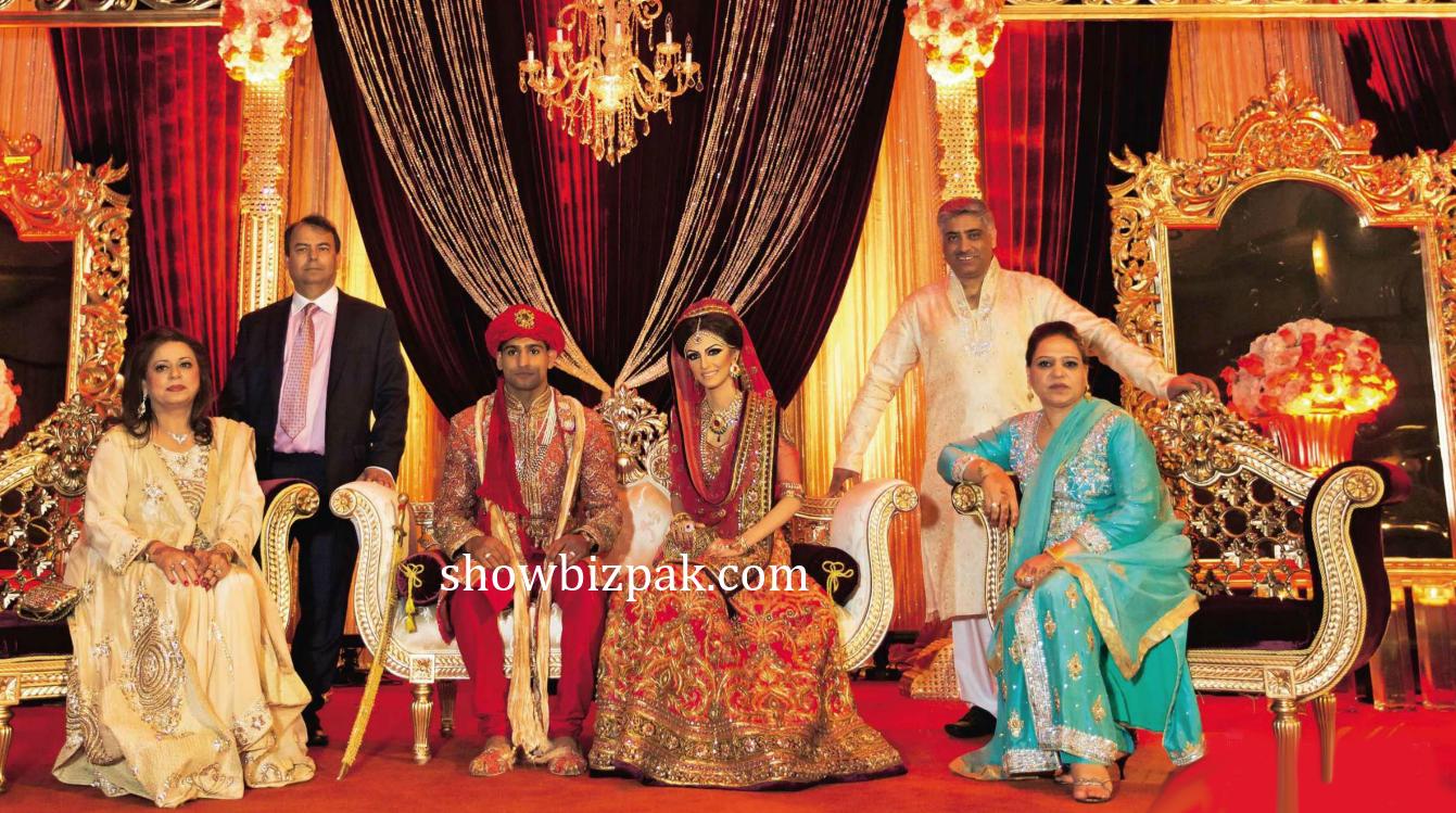 celebrity weddings boxer amir khan wedding pics