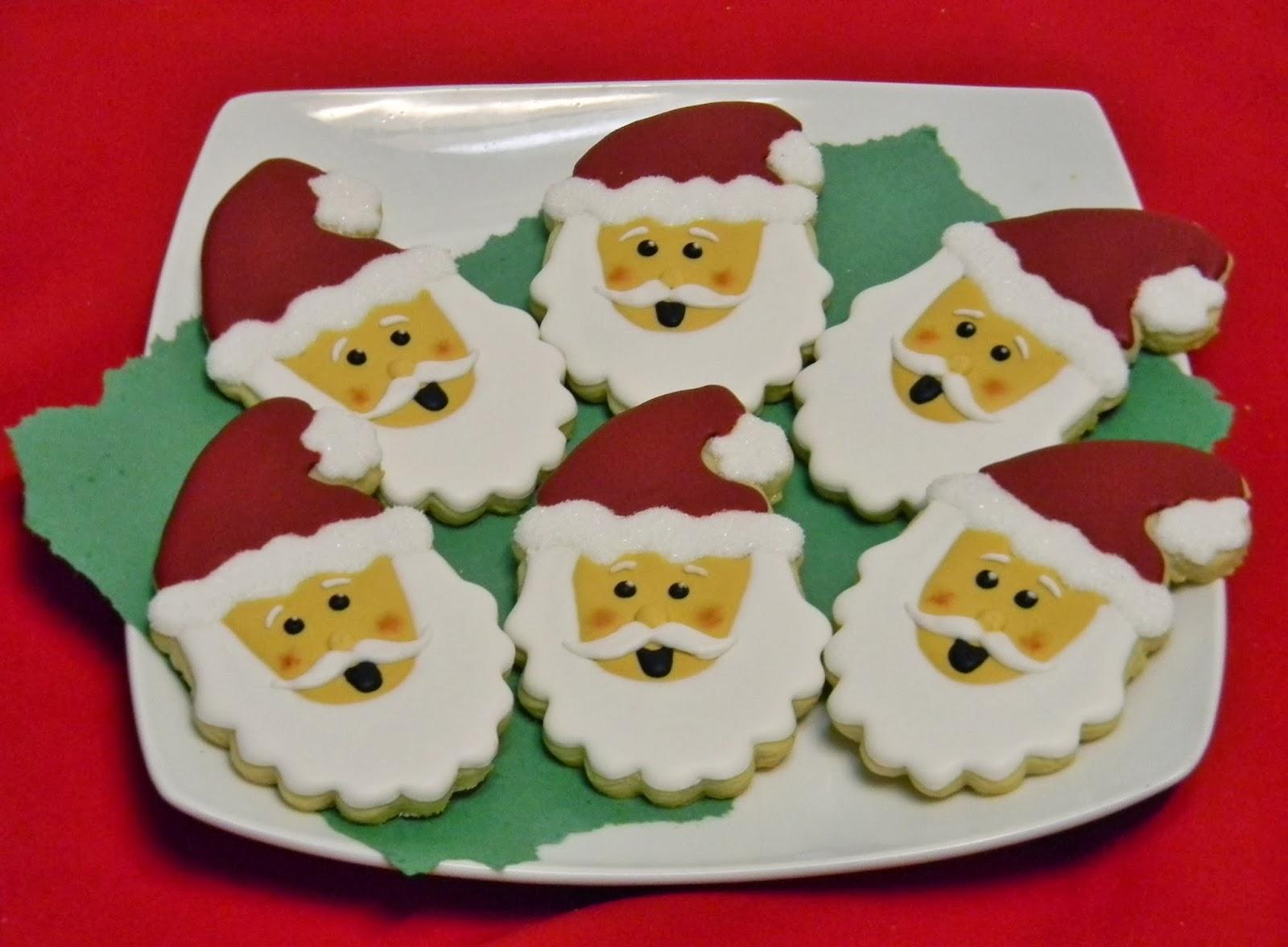 Sweet Melissa 39 S Cookies Santa Claus Cookies