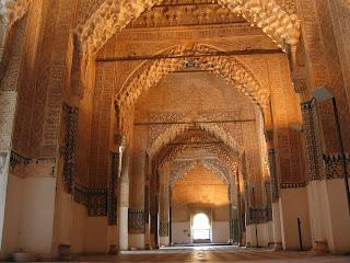 Al Hambra in Granada - Spain (interior)