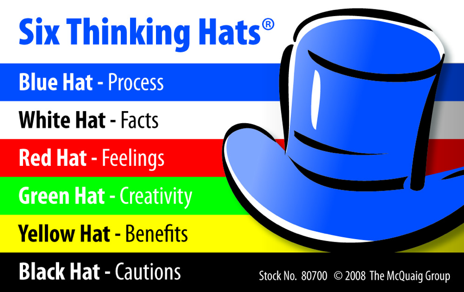 Mark Herring Thinking Hats For Big Kids