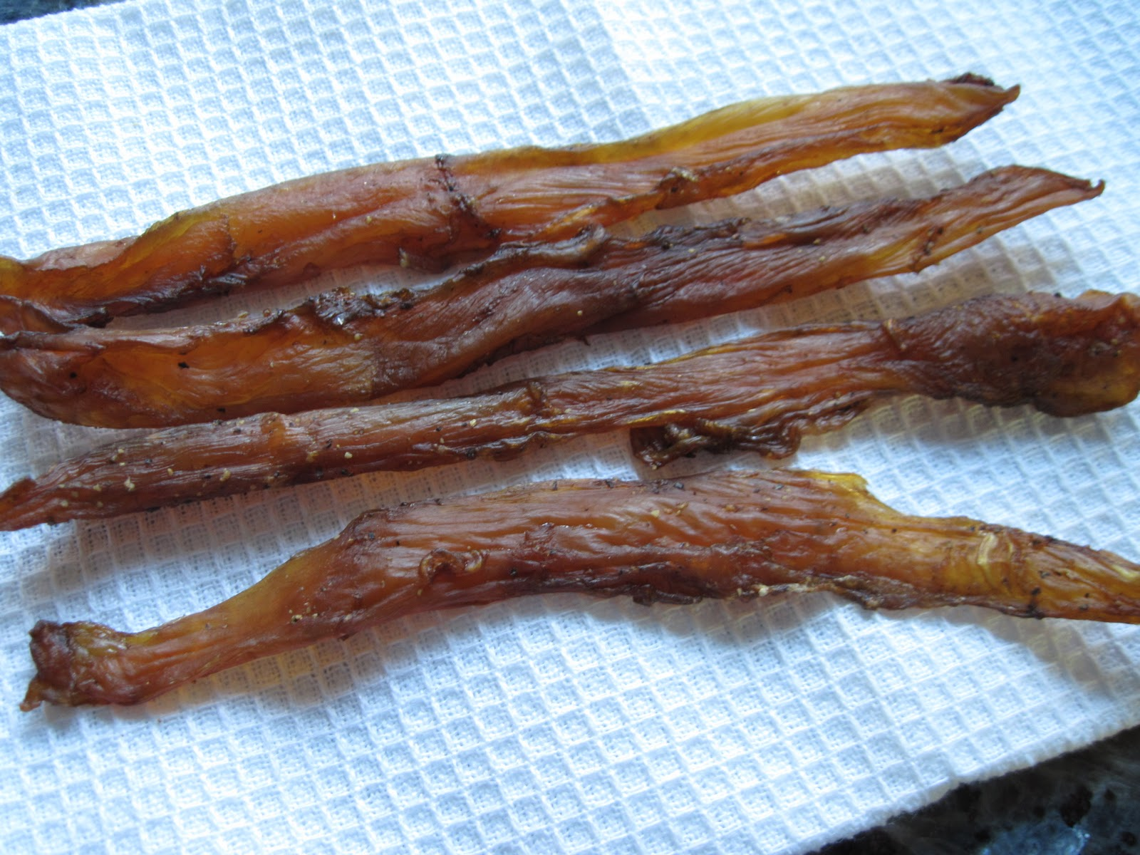 Chicken jerky a recipe yankee kitchen ninja how to make homemade chicken jerky forumfinder Image collections