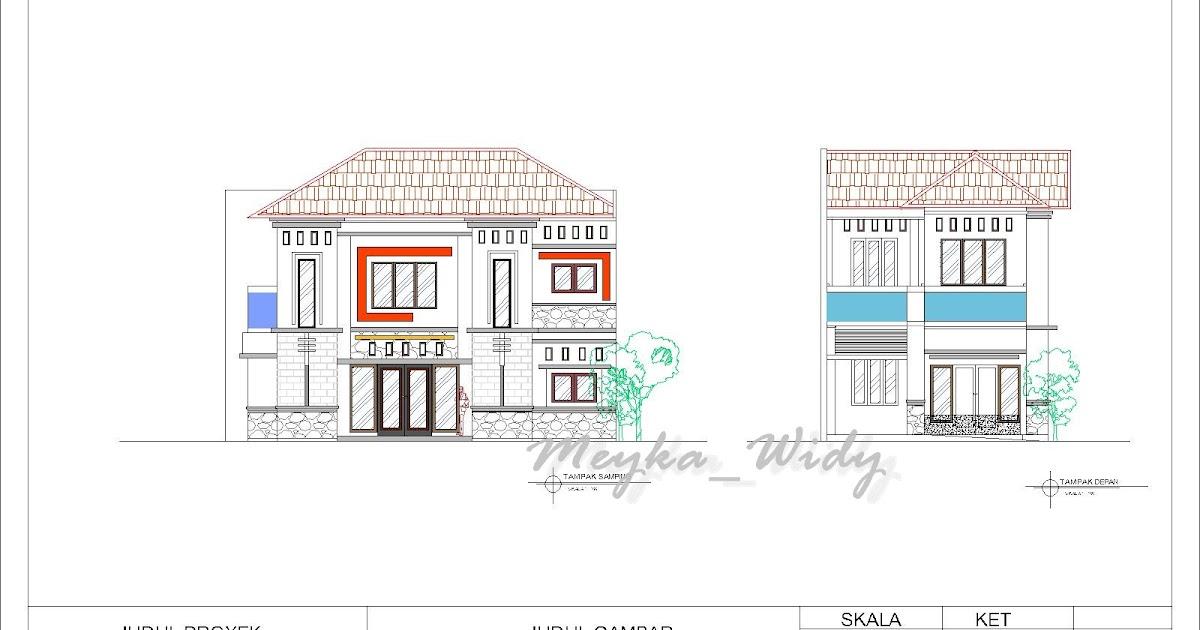 MW Architecture And Design Gambar Kerja Rumah Tinggal 2