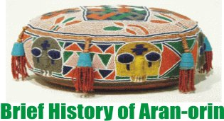 Brief history of Aran-Orin