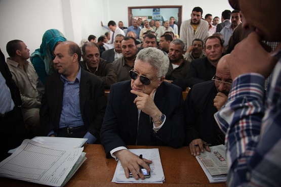 Flamboyant Egyptian Politician Craves Public Eye
