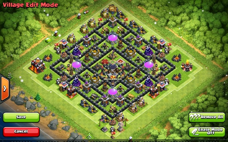 Featured farming base for town hall 10 farming