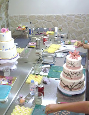 Professionnal Cake design school bakery France Paris Europe