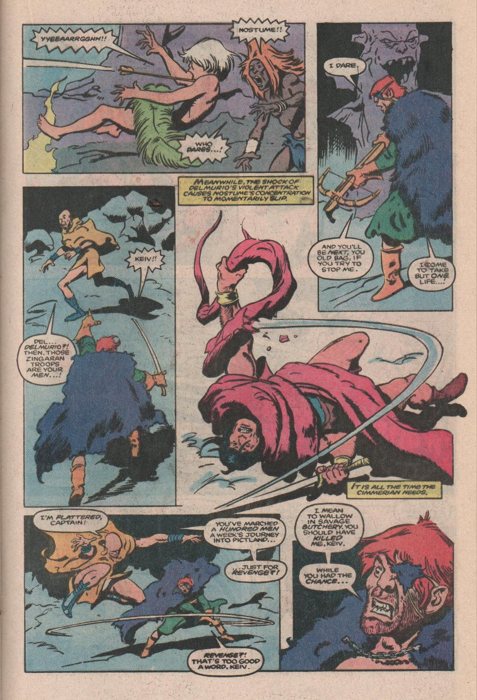 Conan the Barbarian (1970) Issue #173 #185 - English 16