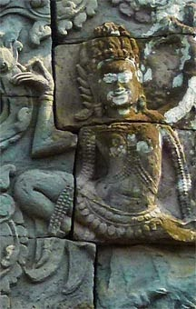 Apsara at Angkor Thom 1