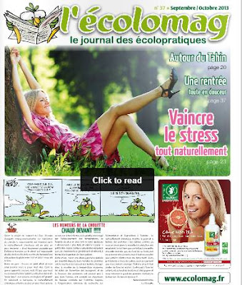 L'Ecolomag de septembre-octobre 2013
