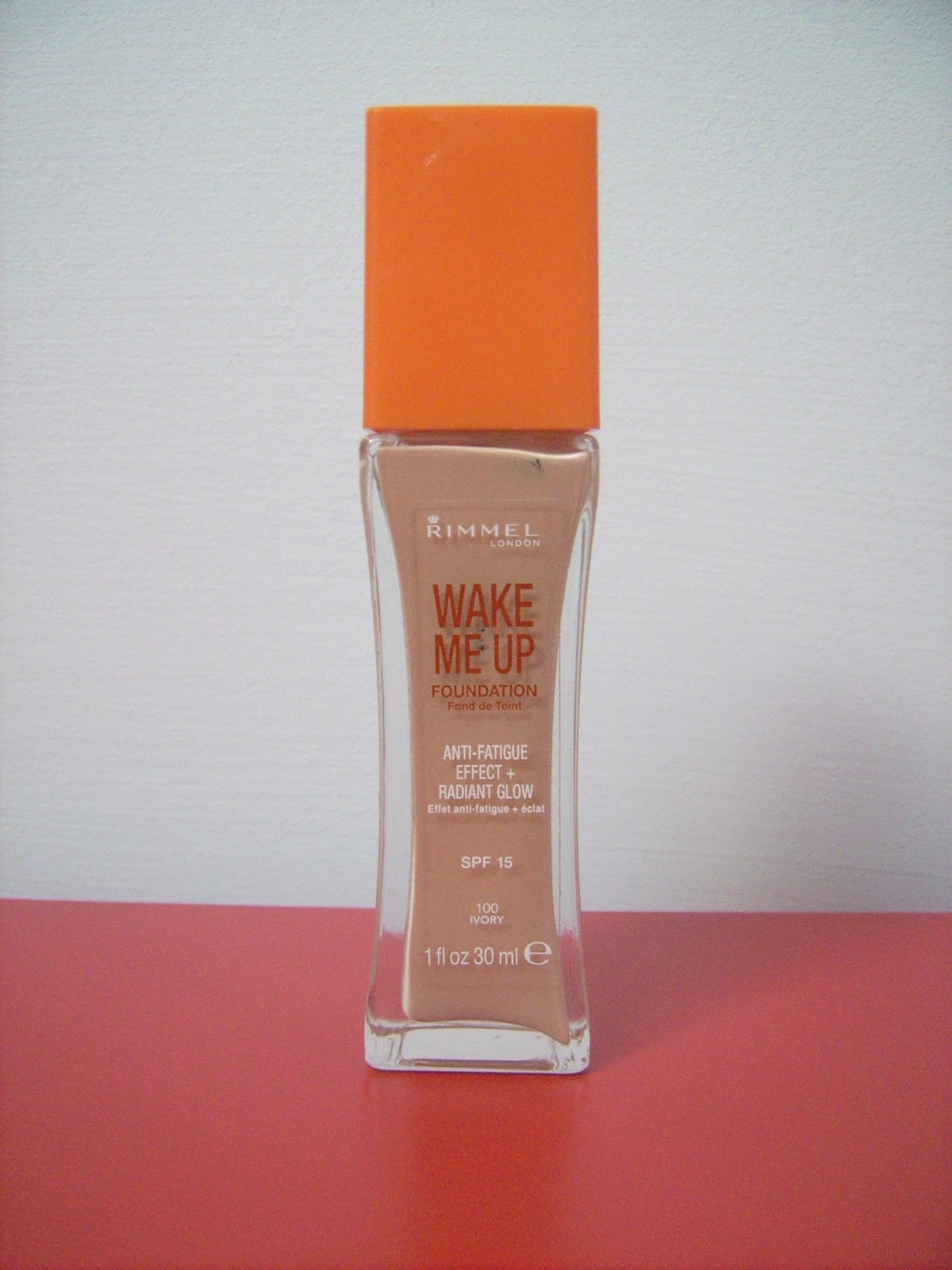 rimmel wake me up foundation 100 ivory