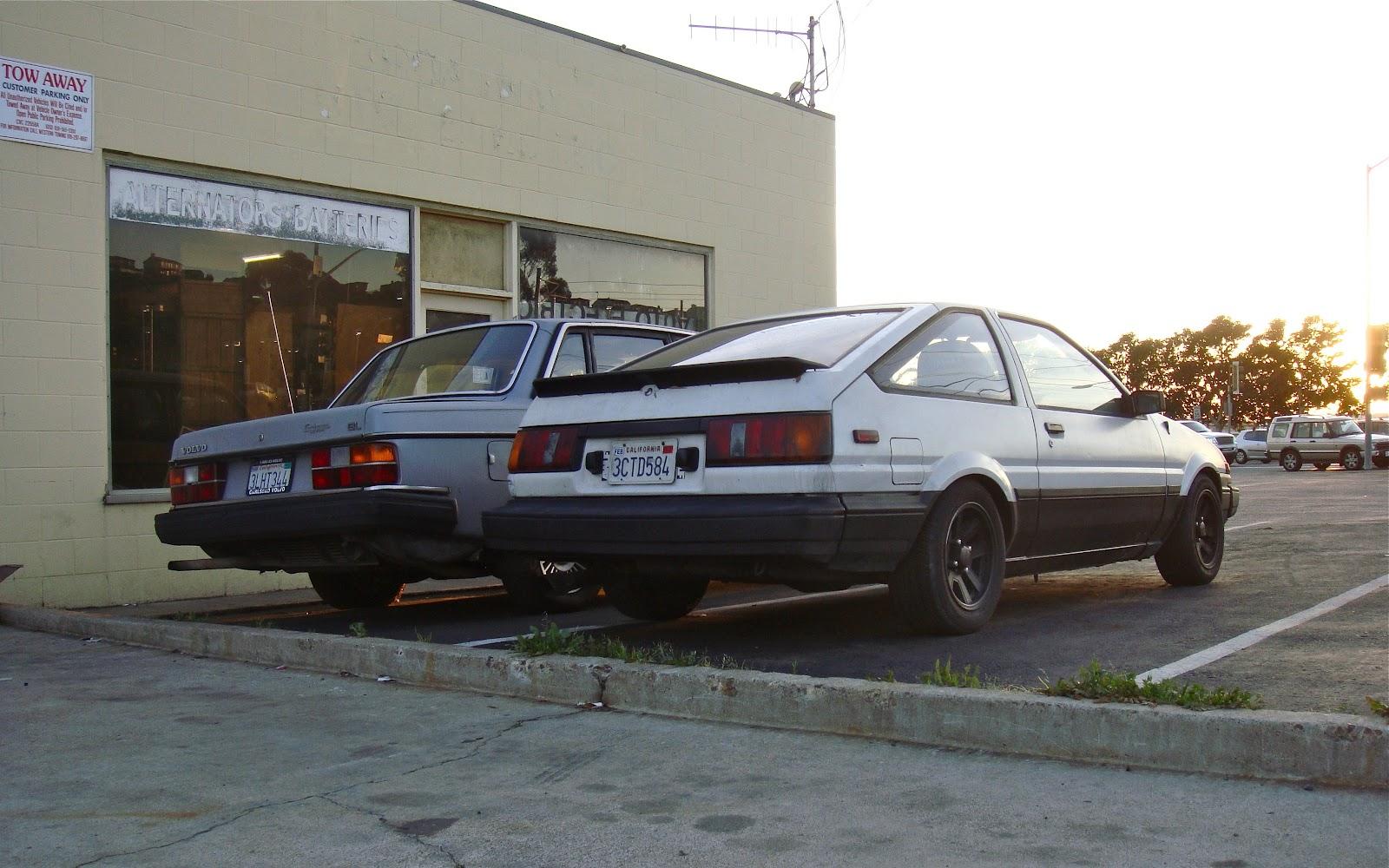 The Street Peep 1985 Toyota Corolla Hatchback