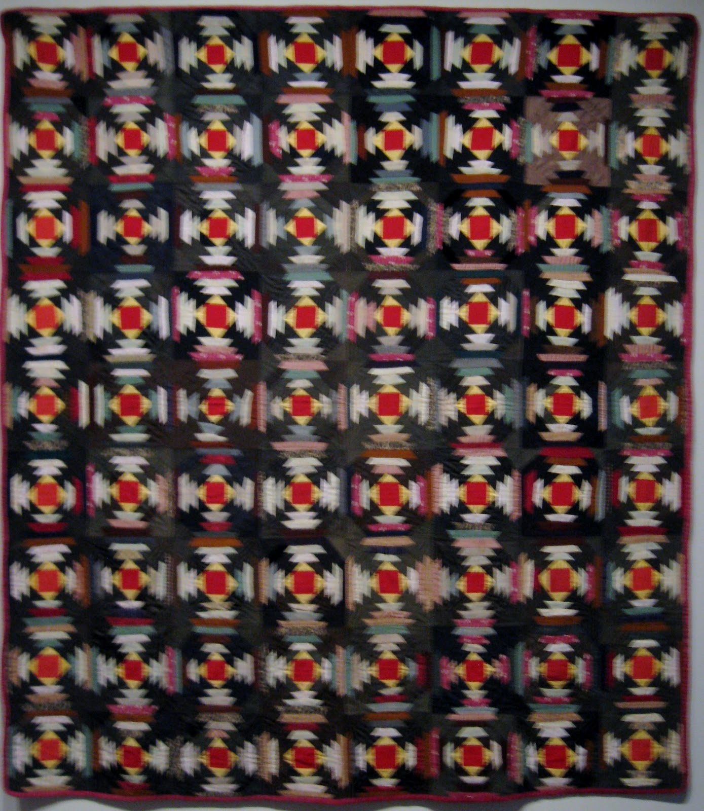 fabric used in the border