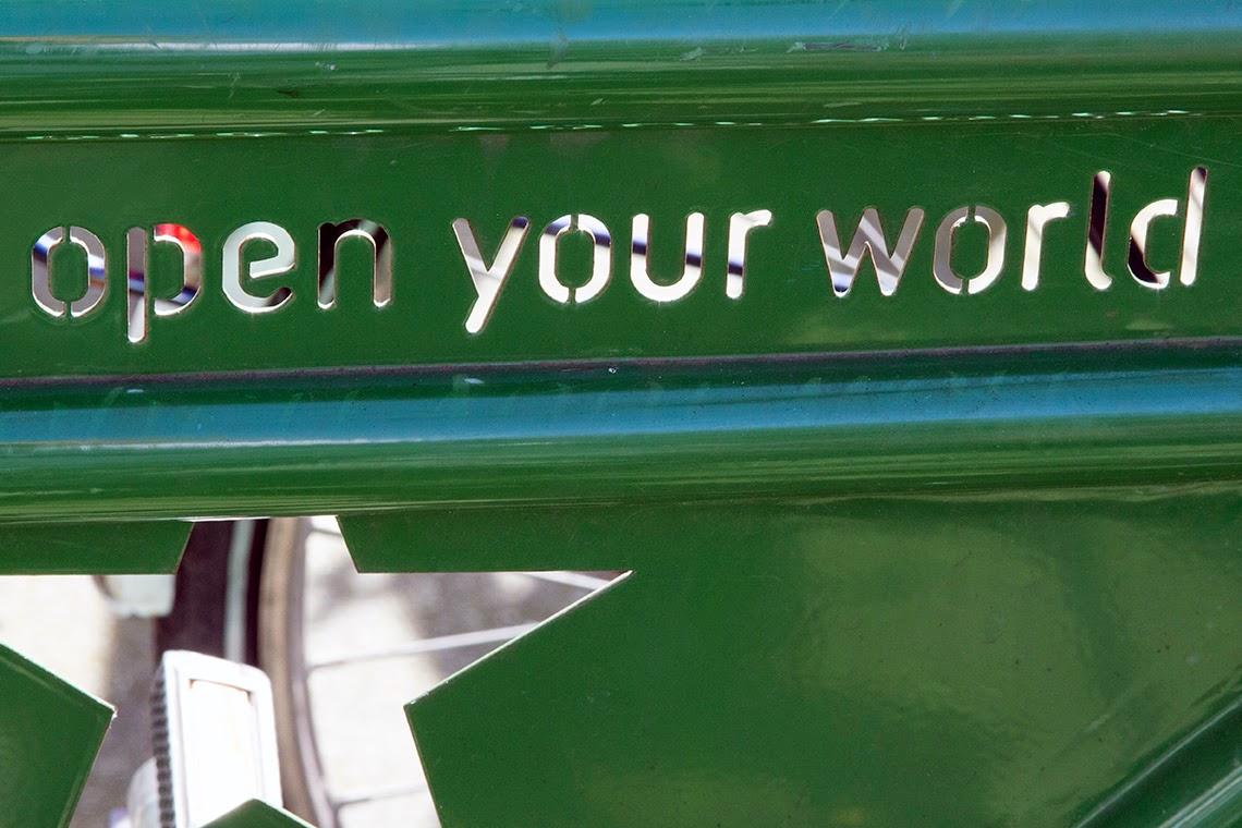 Heineken bicycle