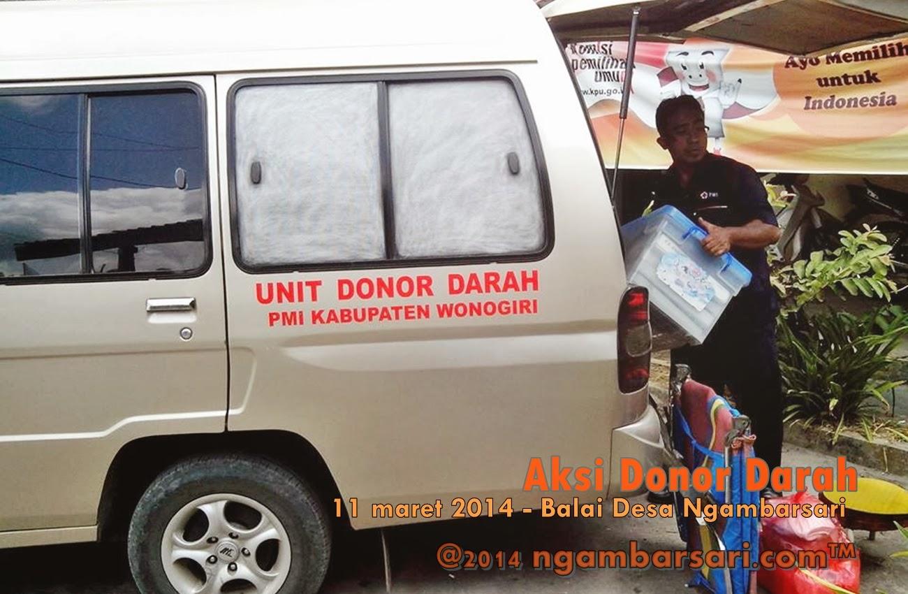 Aksi Donor Darah Ngambarsari 3