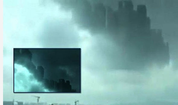 Did A Parallel Universe Open Up: Hundreds See 'Floating City' Filmed In Skies Above China