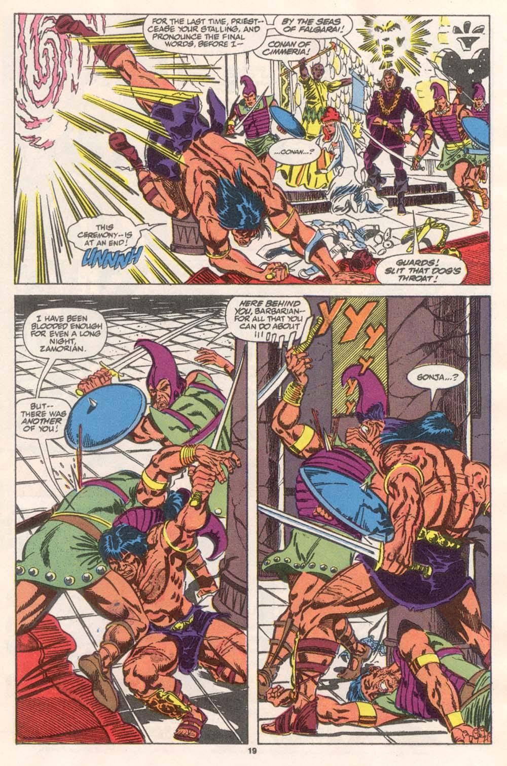 Conan the Barbarian (1970) Issue #243 #255 - English 16