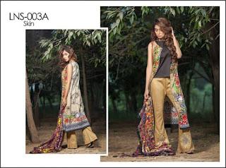 Gorgeous lala textile lawn for women