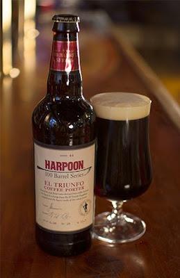 harpoon brewery el triunfo coffee porter