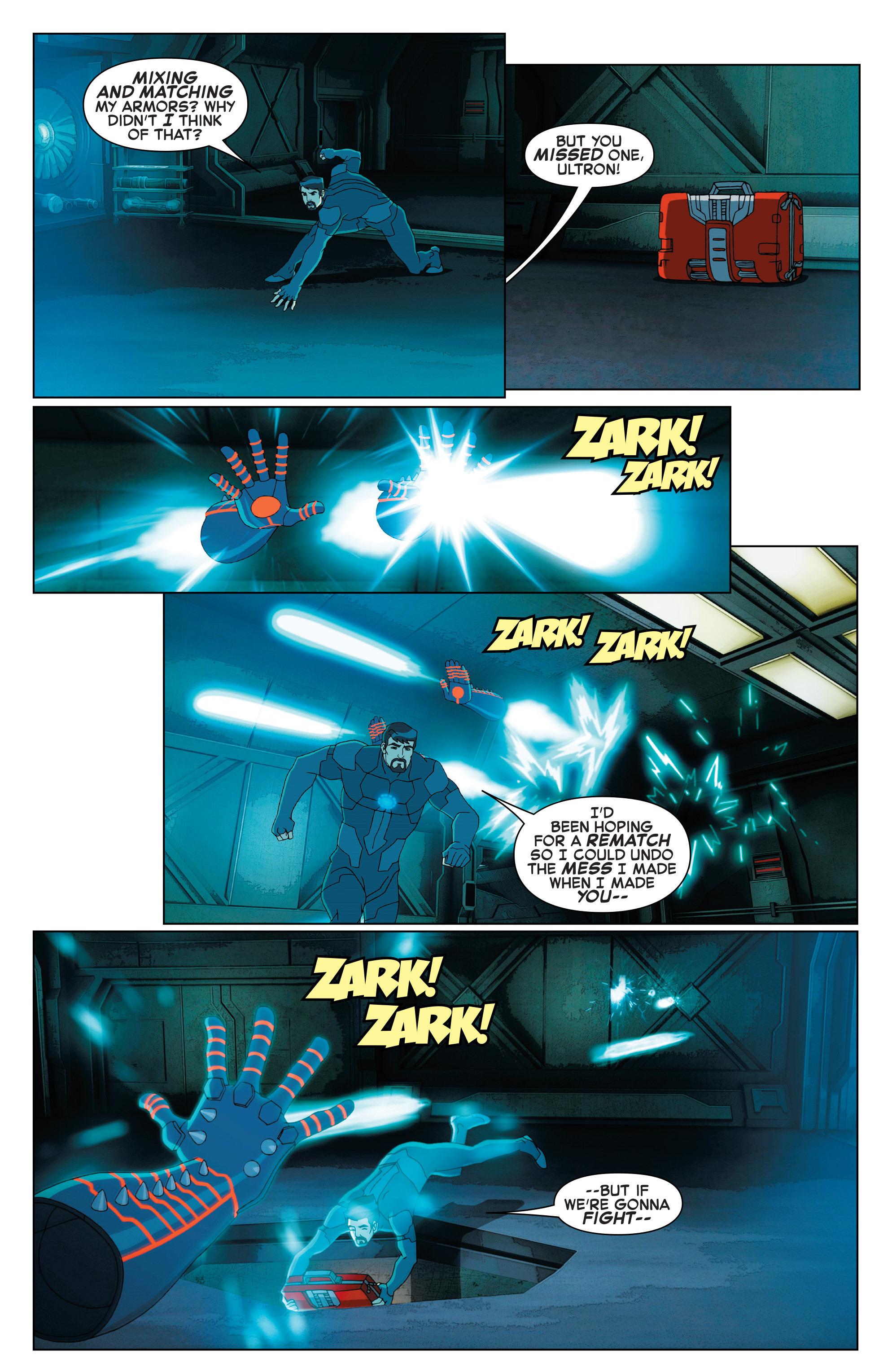 Read online Marvel Universe Avengers: Ultron Revolution comic -  Issue #2 - 9