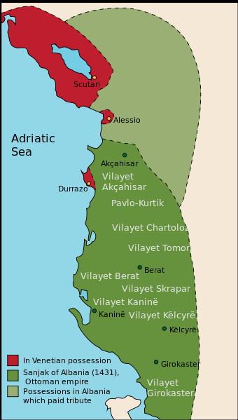 Sanjak of Albania in 1431