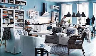 IKEA living room 2012
