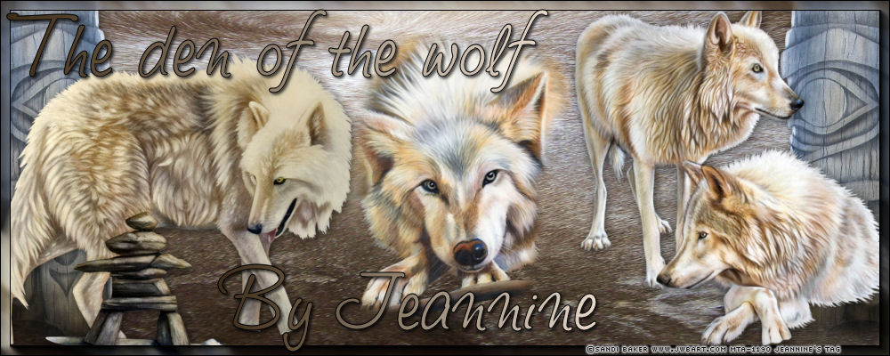 The den of the wolf by Jeannine