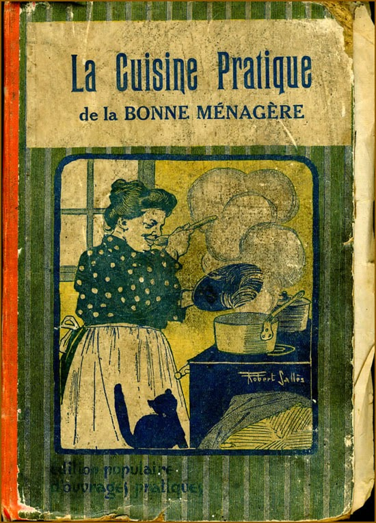 la cuisine de l'argonnais: le biscuit de savoie mode 1900