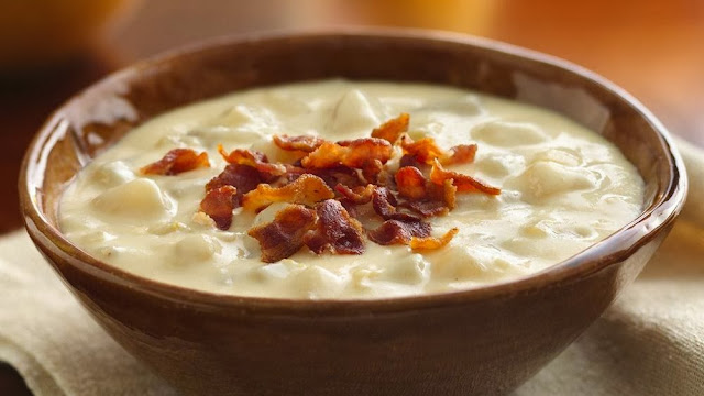 Quick Cheesy Potato Soup