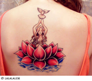 lotus flower tattoo images