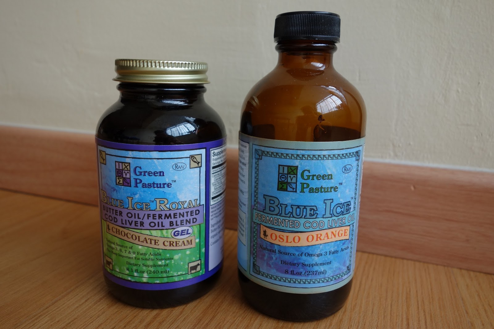 Pasture living my personal reasons for taking green for Difference between cod liver oil and fish oil