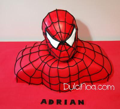 Tarta Spiderman 3D
